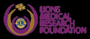 Lions Club Medical Research Foundation logo