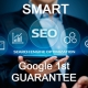 Smart SEO Google 1st Guarantee