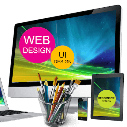 website design and monitor