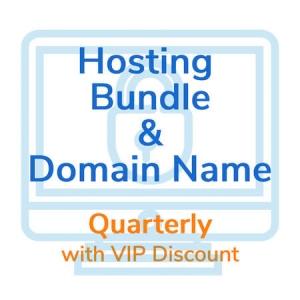 Hosting Bundle - Quarterly VIP Product